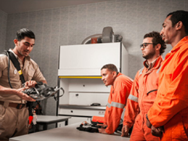 Hydrogen sulphide training hall (H2S training)