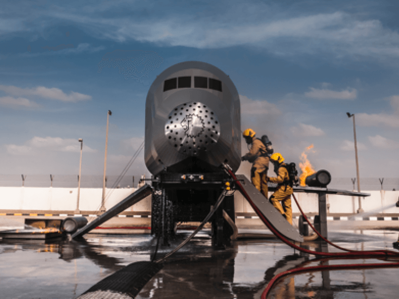 Mobile aircraft for aviation training