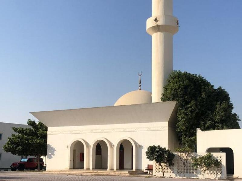 "Prayer area ""Masjid"""